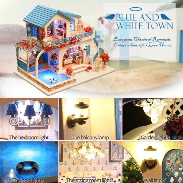 Blue and White Town DIY DollhouseTB1GtNobsfrK1Rjy0Fmq6xBlue and White Town DIY DollhouseEXXaV 600x600 1