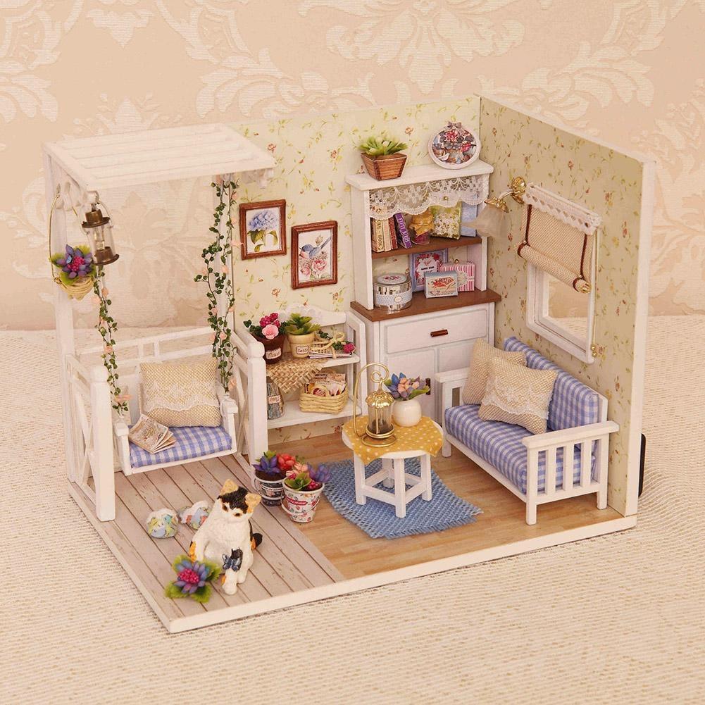 Kitten Diary Architectural DIY Miniature Dollhouse