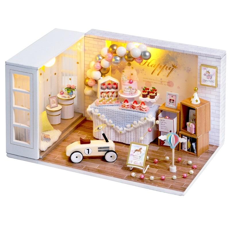 Camp Party DIY Miniature Room Kit QT10A7a56919db4014676b7e9fef81625e272Camp Party DIY Miniature Room Kit QT10A