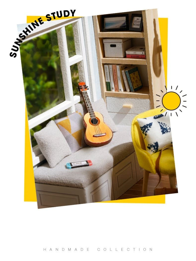 Sunshine Study DIY Miniature Room Kitbe4cd15228ef4a248fa4a9ffed19a106w