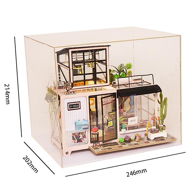 kevin s studio robotime diy miniature dollhouse kit 10
