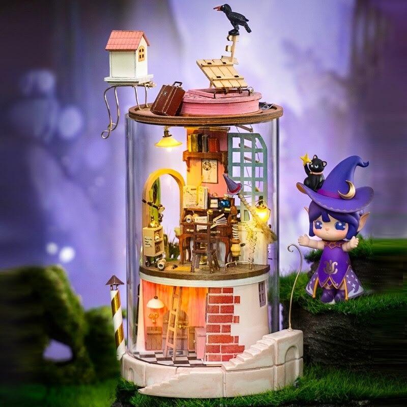 robotime rolife diy dollhouse happy corn main 4