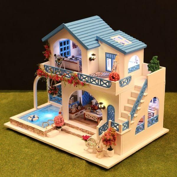 Blue and White Town DIY DollhouseTB1L7pGbznuK1RkSmFPq6AuzFXaN 600x600 1