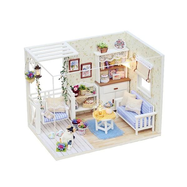 DIY Miniature Kitten Diary Architectural Dollhouse