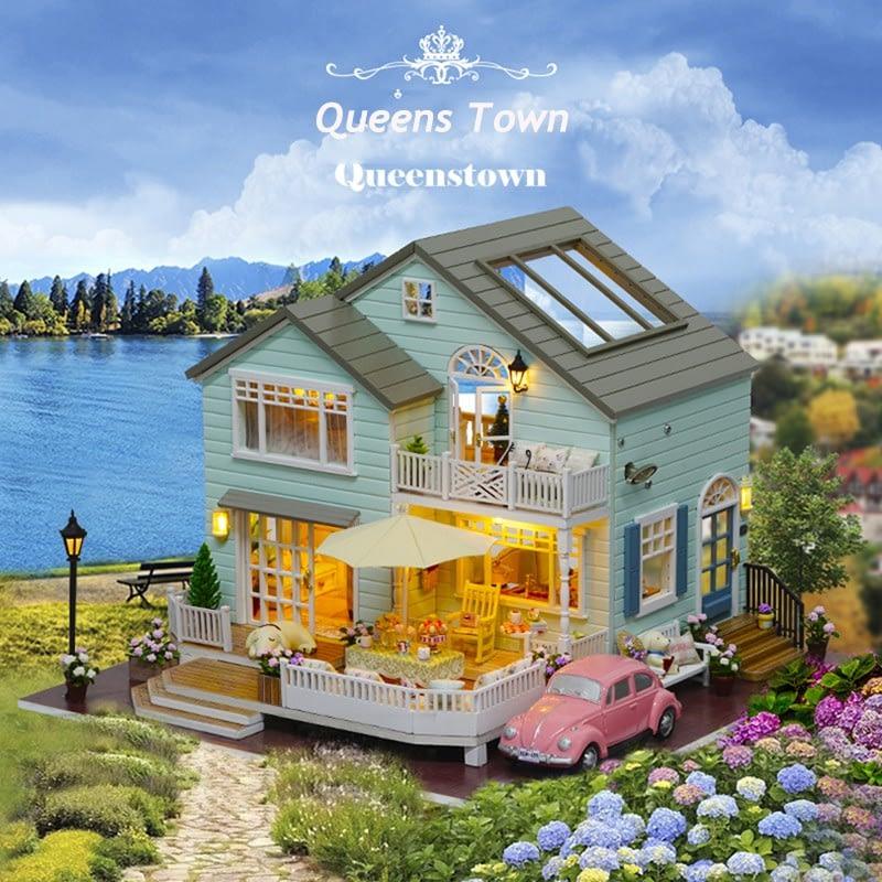 HTB1akbVRFXXXXcAaXXXq6xXFXXXXQueens Town DIY Miniature House