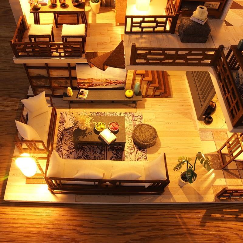 Quiet Time DIY Miniature House Kit12e565585a694bf5b054697382afce47e