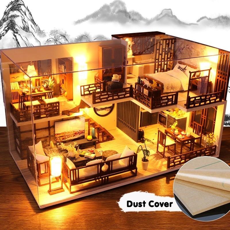 Quiet Time DIY Miniature House Kit57f9dd1029f34eca8385f71a6777897be