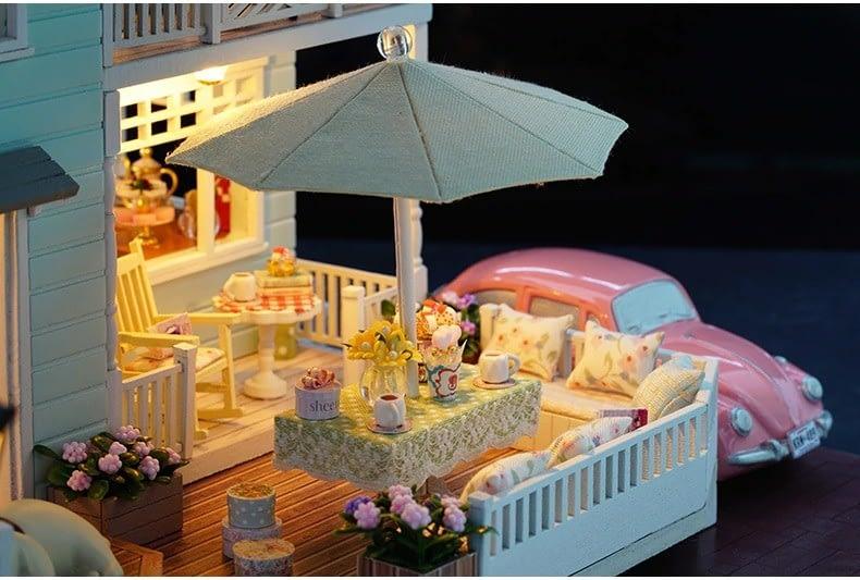 ssemble diy doll house toy wooden minia description 36