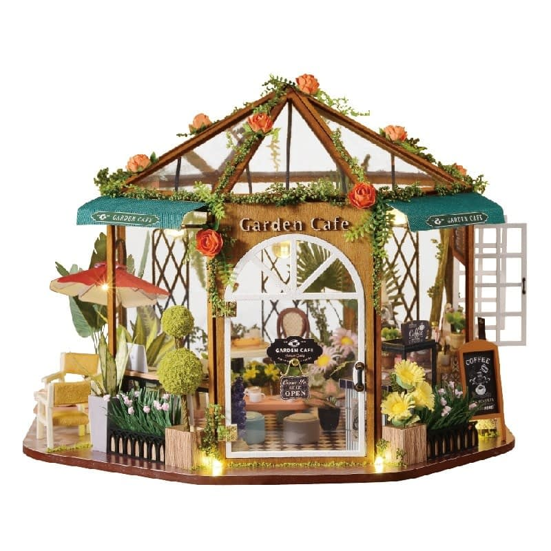 Garden Cafe DIY Miniature Kit GD01A7ecedf1a12b74a93a8dea63114333244P