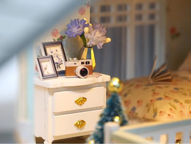 ssemble diy doll house toy wooden minia description 42