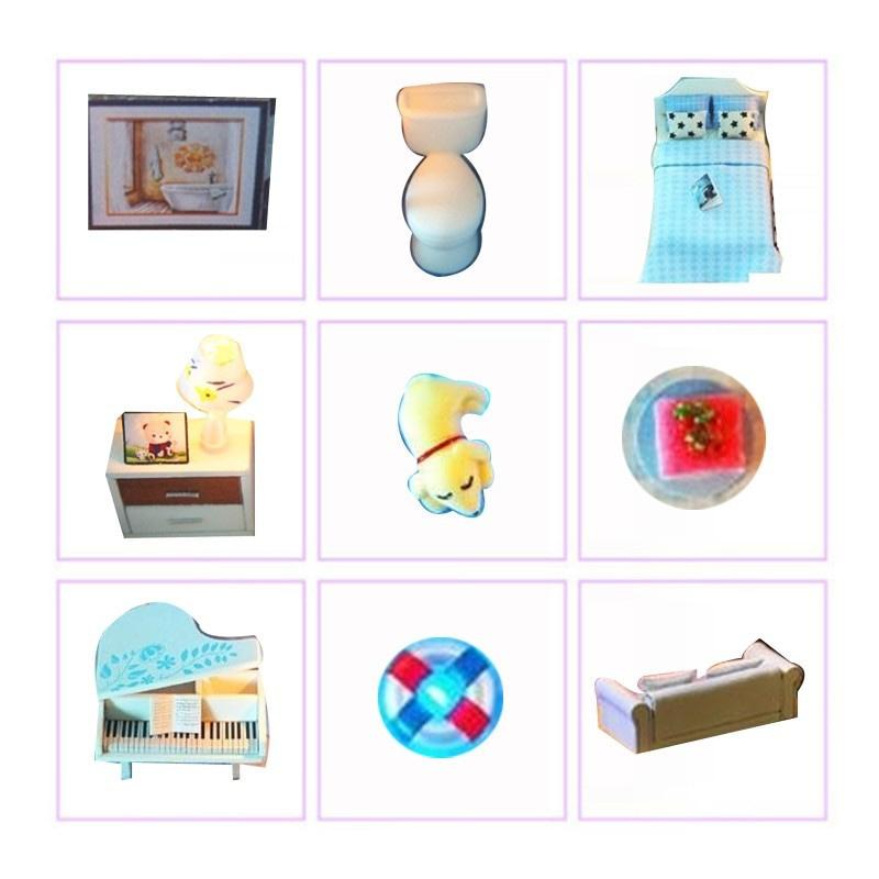 Revos Loft DIY Miniature House Kit house and music8502e72e2dd645deb9df631d7535397eV