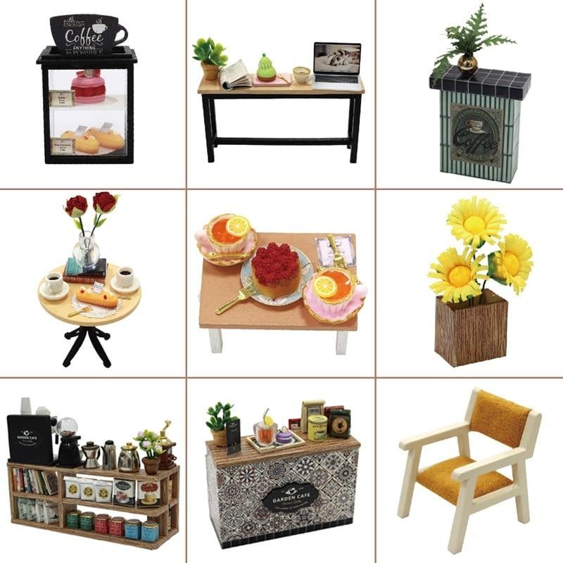 Garden Cafe DIY Miniature Kit GD01Ac59ba11570a14f01b7a52feac1197b03K