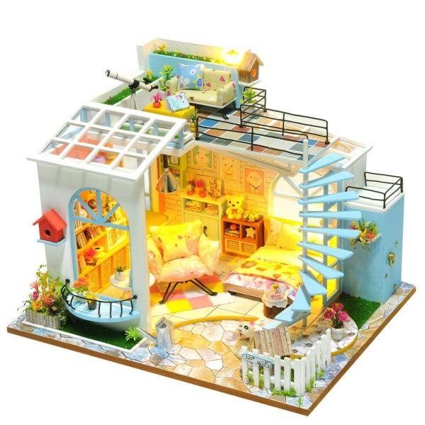 2f7783cbdec79615945d9b6e6fe79c21 600x600Moonlight Rooftop DIY Dollhouse