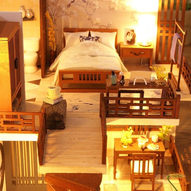 Quiet Time DIY Miniature House Kit708a613ae3774b13a954da42d80cd609X