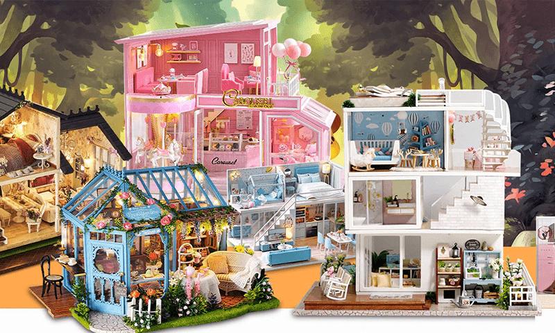 Cutebee Dollhouse