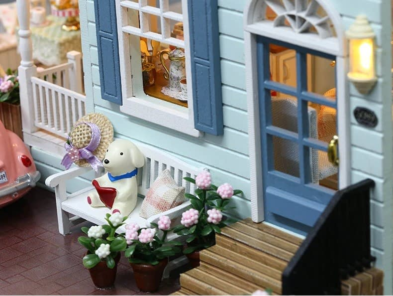 ssemble diy doll house toy wooden minia description 31