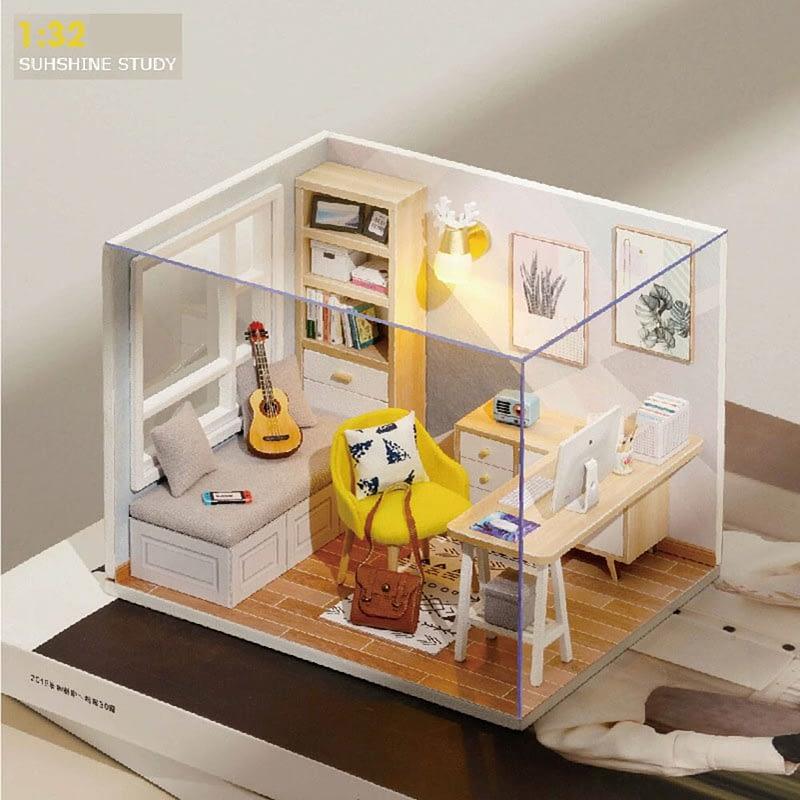 Sunshine Study DIY Miniature Room Kit4b78119a708747d5a7ae59bcdfe1cca2N