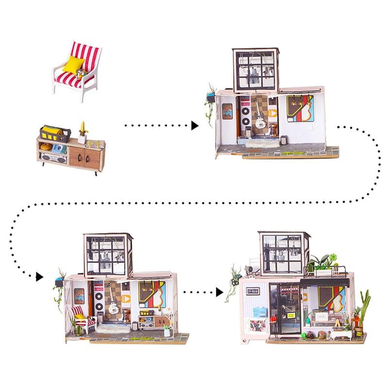 kevin s studio robotime diy miniature dollhouse kit 8