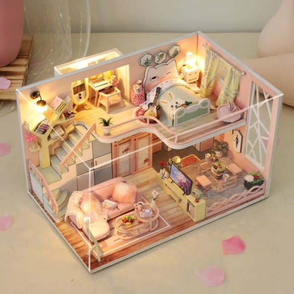 From Lily With Love DIY Miniature Dollhouse Kit149d2951aff749139a8e8b5e704540ef2 600x600 1