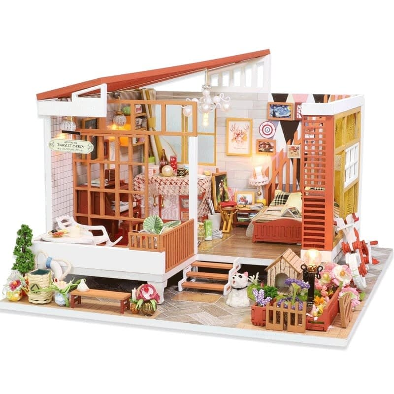 HTB1TsRXasfrK1Rjy0Fmq6xhEXXanWooden Cozy Dollhouse DIY Dollhouse Kit