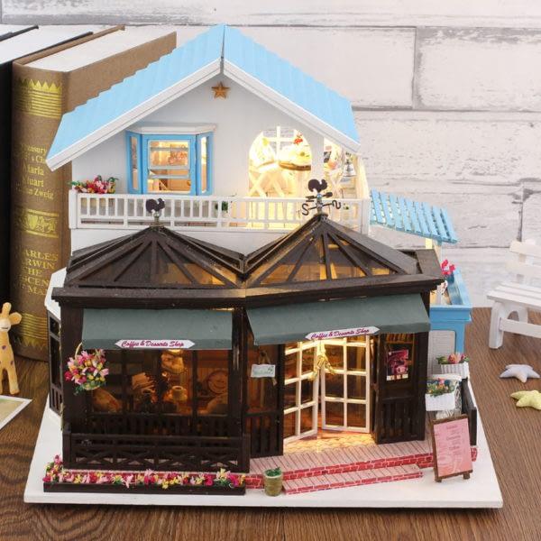 HTB145kRcuSSBuNjy0Flq6zBpVXan 600x600Sweet Coffee DIY Miniature Dollhouse Kit
