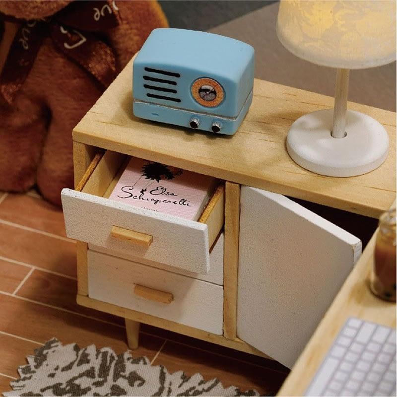 Sunshine Study DIY Miniature Room Kit7124fdd7e5ae4acc943f42c00f092115S