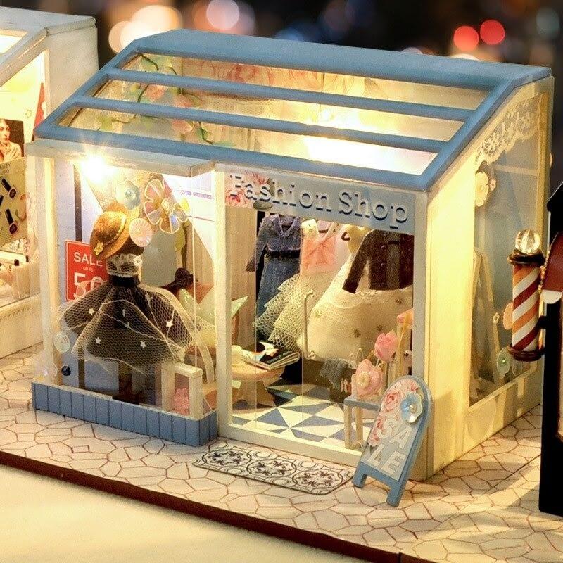 da859bb9be364afc328924cc2238ce42Fashion Shop DIY Miniature Boutique Kit Manicure shop