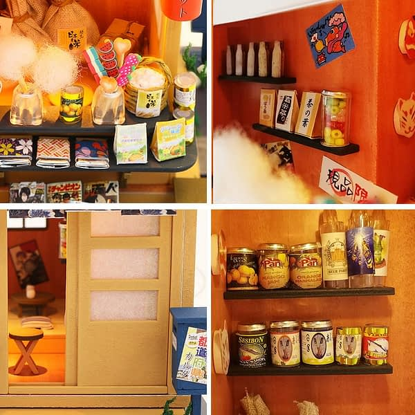 Japanese Grocery Store DIY Dollhouse